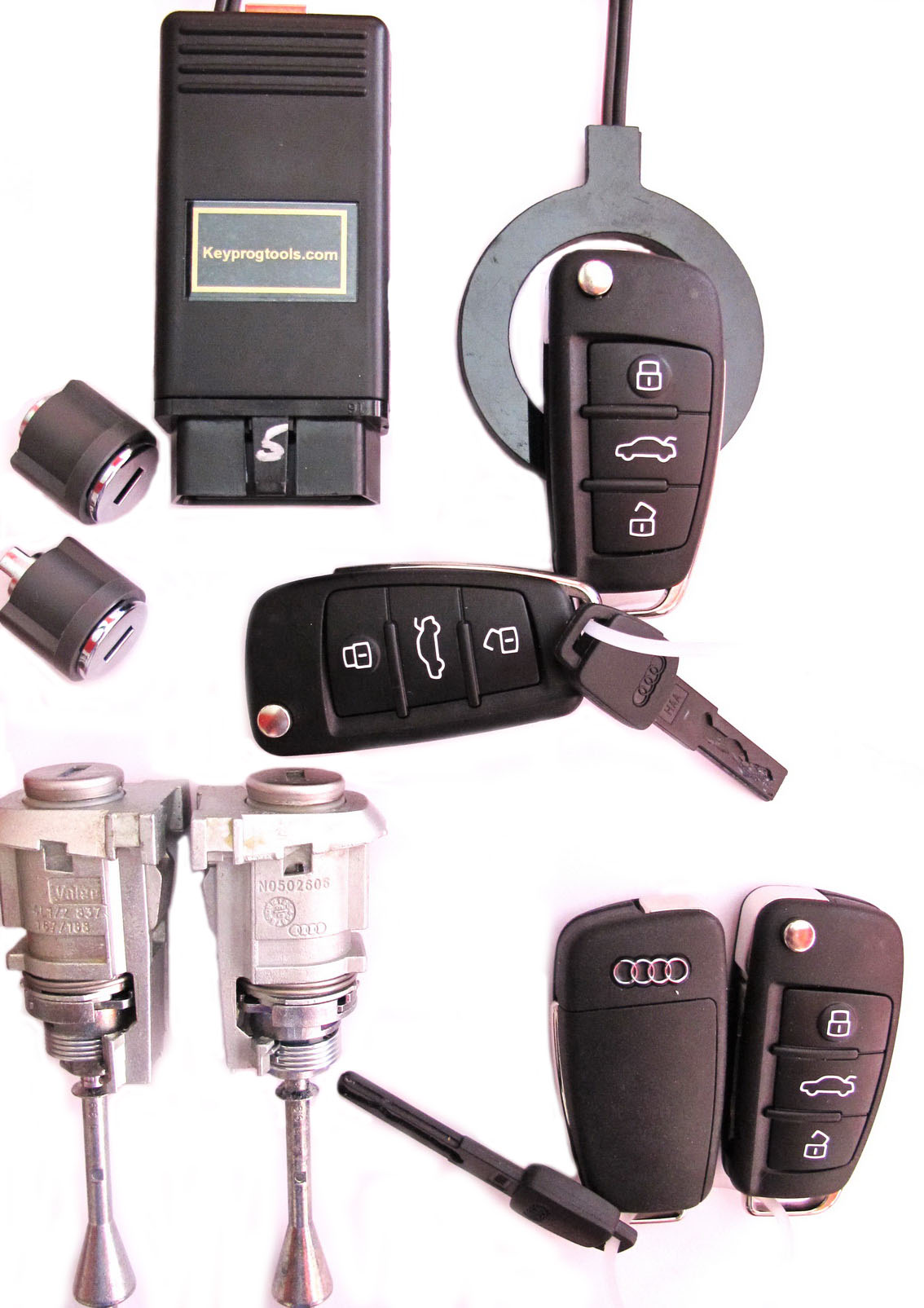 audi key programming q7 a6 allroad