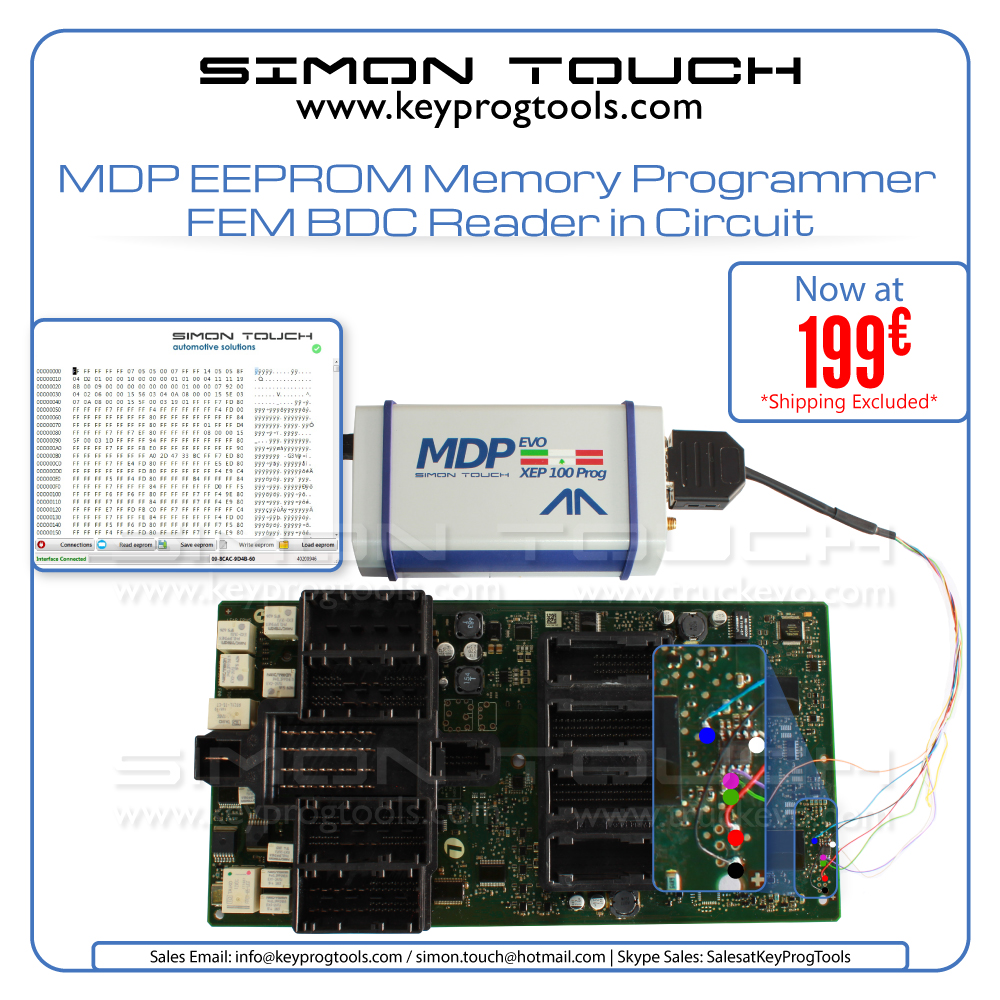 MDP eeprom offer 199 Euro