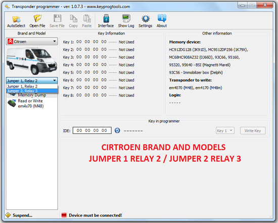 12-CITROEN-key-learning-programming-device