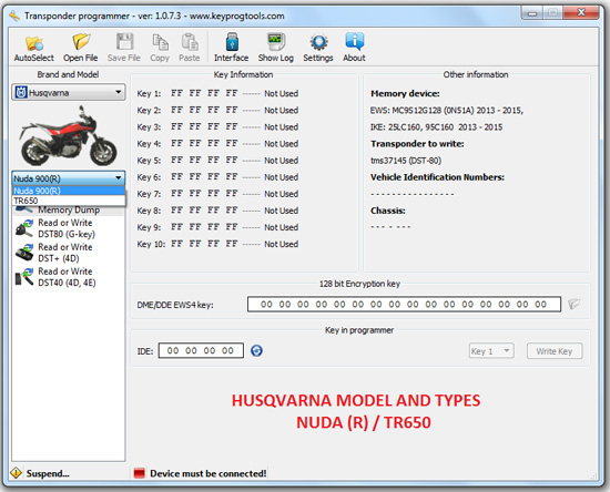 15-HUSQVARNA-key-learning-programming-device
