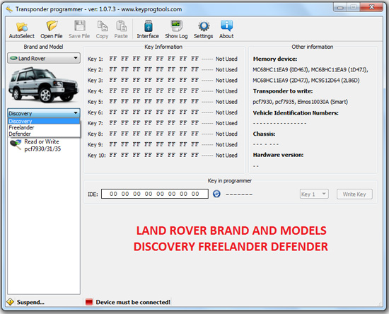 8-LAND-ROVER-FREELANDER-DEFENDER-key-learning-programming-device