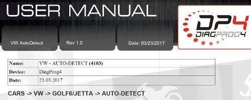 VW AutoDetect eng