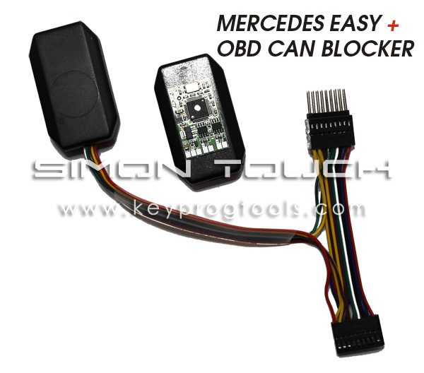 mercedes easy odometer obd can blocker