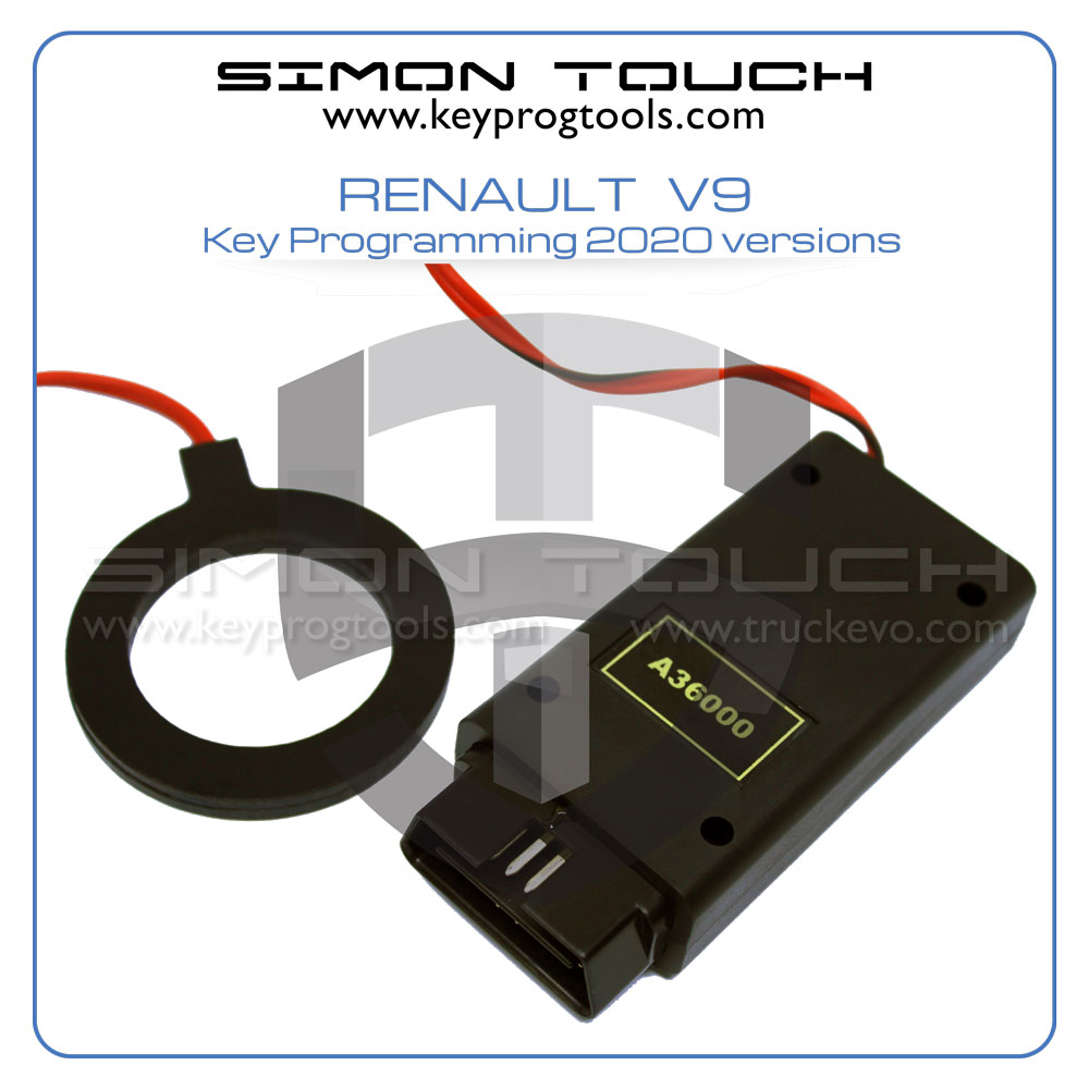renault V9 key programming device